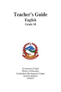 Class 10 English Teacher's Guide / Manual