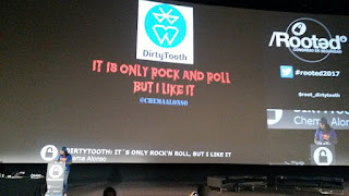 RootedCon 2017 - Chema Alonso - DirtyTooth: It's only rock'n roll, but I like it