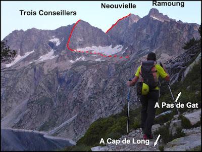 Vista de la Ferbos y Tres consejeros desde la aproximación
