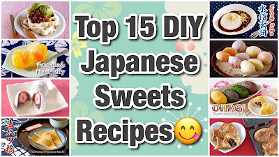 Top 15 DIY Japanese Sweets
