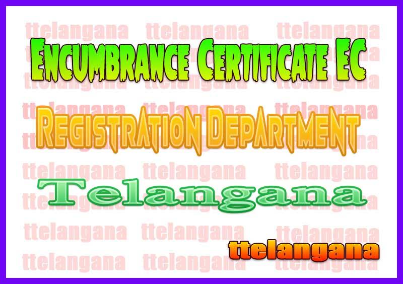 TS AP Encumbrance Certificates eEC Download-Telangana Andhra Pradesh Encumbrance Certificates(eEC) Telangana Registration EC Download
