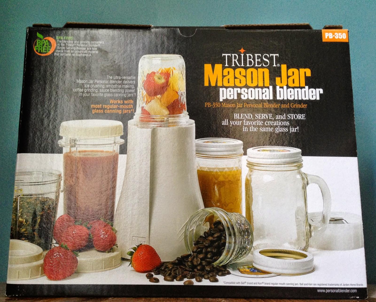 Tribest Personal Mason Jar Blender