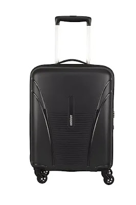 American Tourister Ivy Polypropylene 68 cms Black Hardsided Luggage Bag | Best Luggage Bags for International Travel in India | Best Luggage Bag Brands