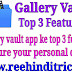 gallery vault app top 3 features secure your personal data