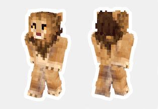 skin de leon minecraft