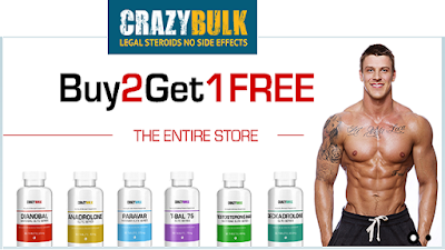 CrazyBulk Bodybuilding Supplement for Boost Muscle Growth and Burn Fat