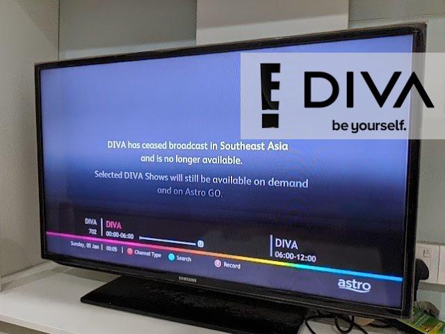 Astro Berhentikan Menyiarkan DIVA dan E! Entertainment Channel