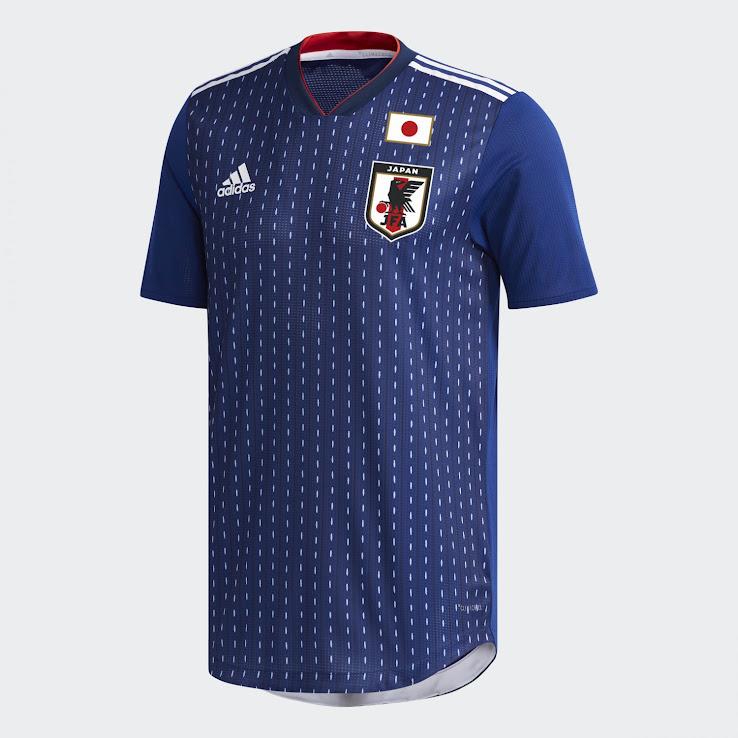 Seragam Piala Dunia 2018 Jepang