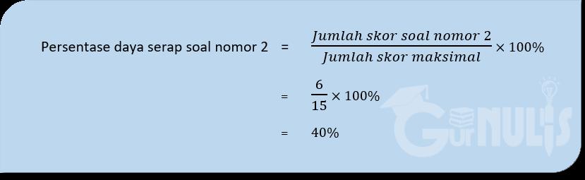 Cara Menganalisis Hasil Ulangan Siswa, www.gurnulis.id