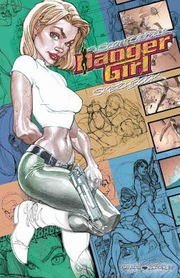 [7BD] Danger Girl Sketchbook de J Scott Campbell