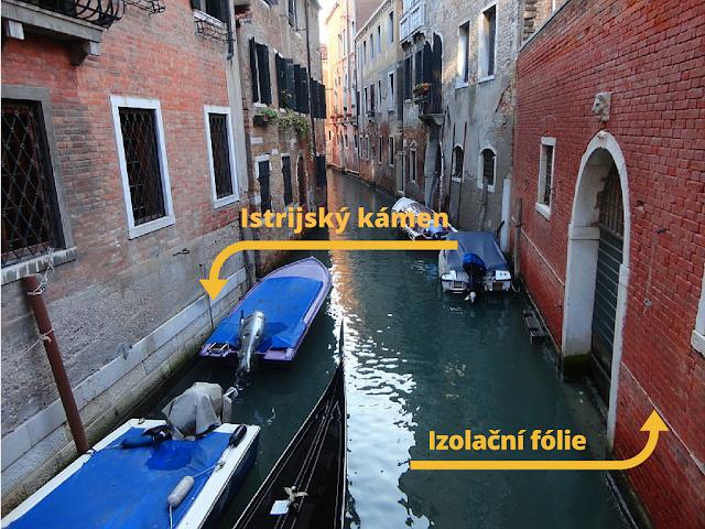 Vlhkost a voda. Jak to řeší v Benátkách?
