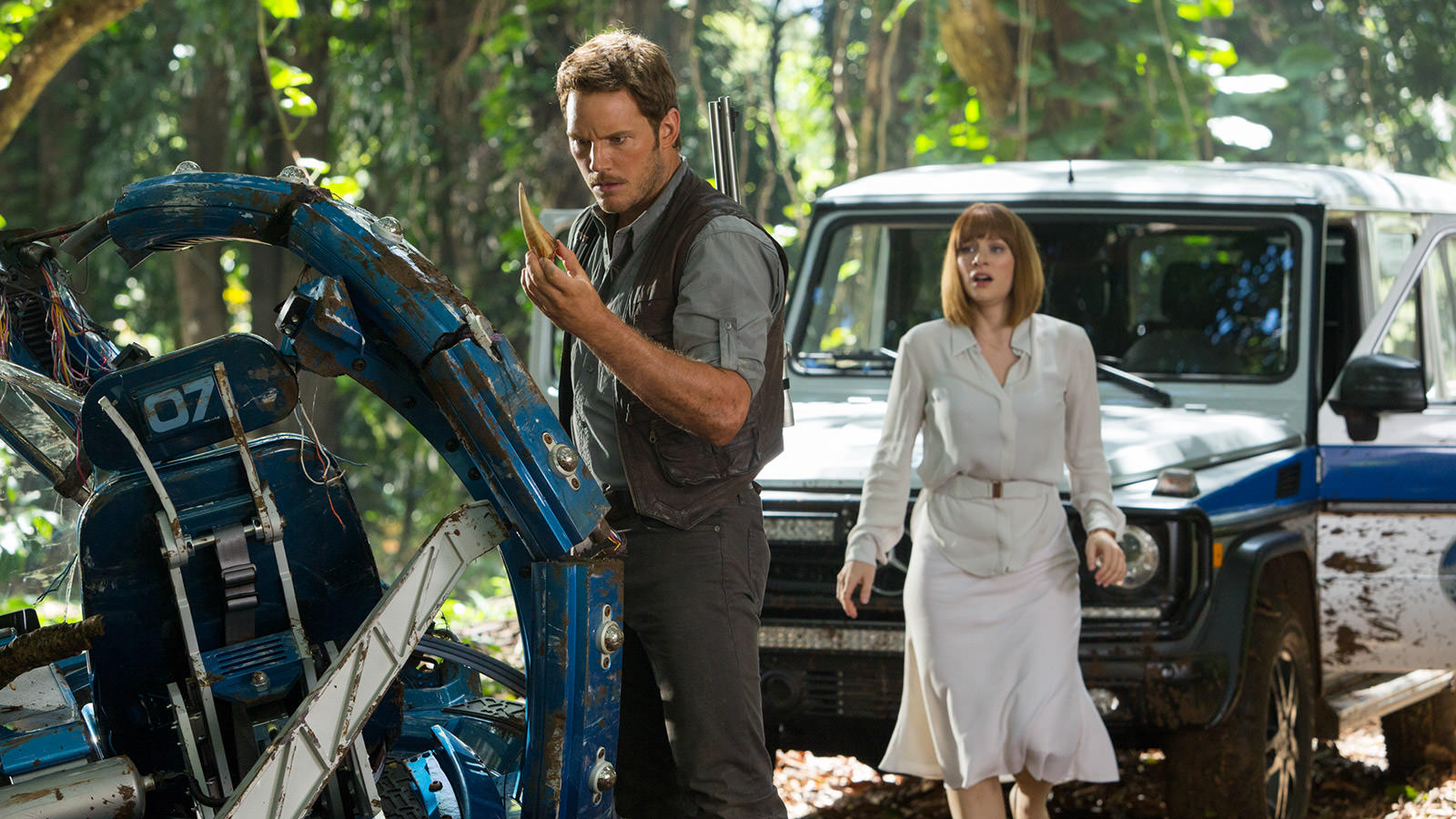 Chris Pratt Bryce Dallas Howard | Jurassic World