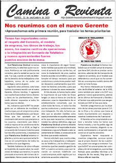 COMUNICADO DEL DÍA 11 DE SEPTIEMBRE