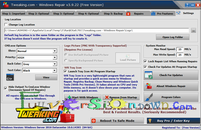 Windows Repair 3.9.22 (All In One) Latest Version
