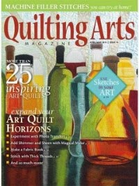 Quilting Arts April/May 2015