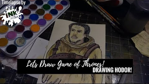 Lets Draw Hodor from Game of Thrones