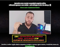 Cupom de Desconto treinamento EMA - Estratégia Milionária para Afiliados - Gian Garcia