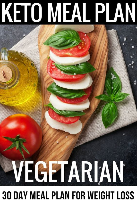 Keto Diet For Vegetarians 30 Day Meal Plan: 90 Low Carb ...
