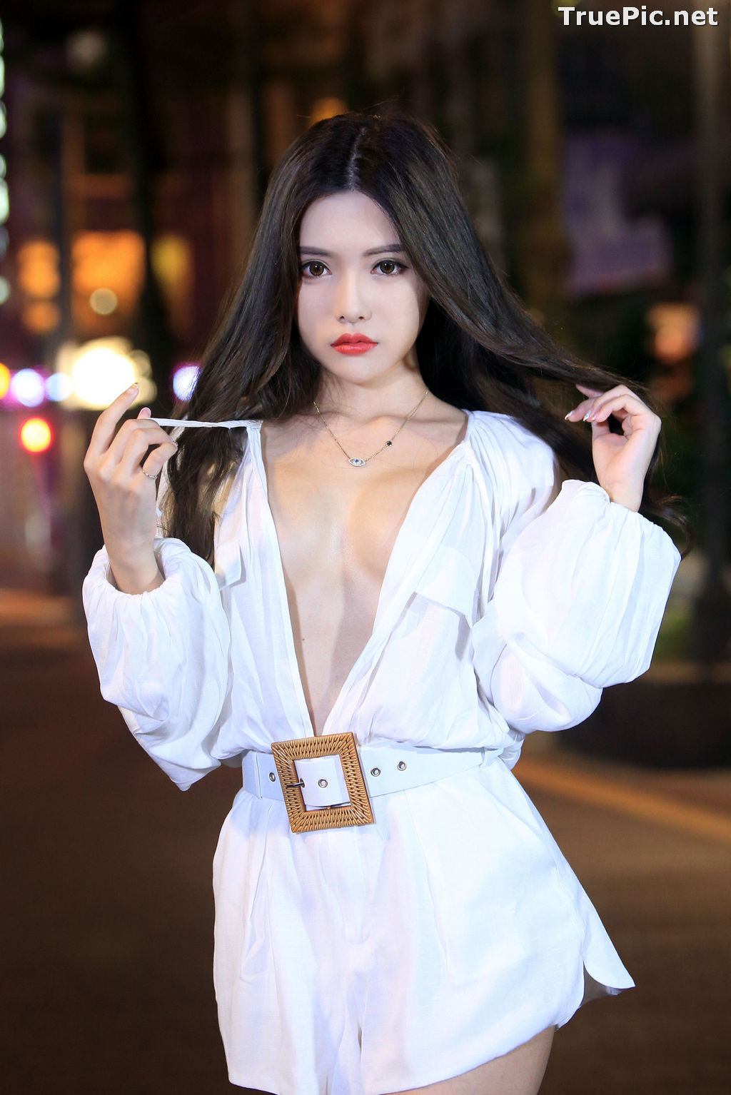 Image Taiwanese Model – 莊舒潔 (ViVi) – Sexy and Pure Baby In Night - TruePic.net - Picture-10