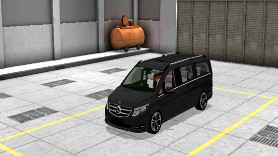 mod mercedes benz luxury mvp bussid