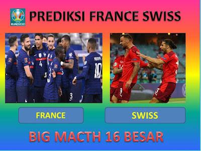 Prediksi Pertandingan Timnas France Vs Swiss Malam Ini