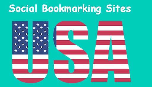 USA Social Bookmarking Sites List