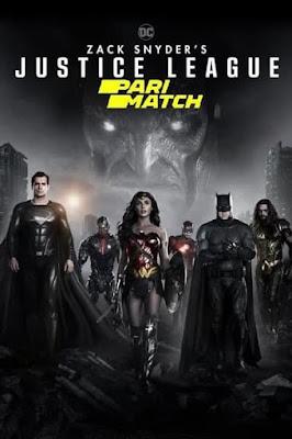 Zack Snyder's Justice League (2021) Dual Audio [Hindi – Eng] 720p HDRip x265 HEVC 1.3Gb [HINDI HQ Fan Dub]