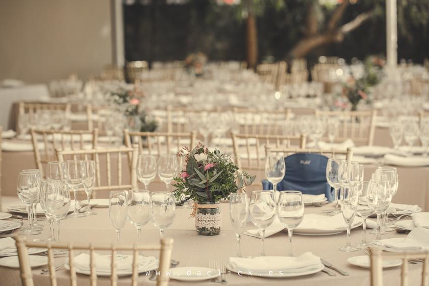 decoración de mesas de banquete de bodas