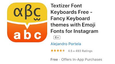 Aplikasi Textizer Font Keyboards Free