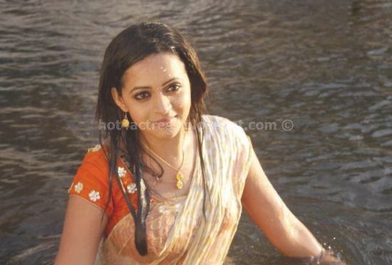 Bhavana latest  saree pics