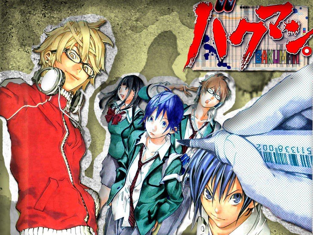 Bakuman, Moritaka Mashiro, Miho Azuki, Takagi Akito, Anime