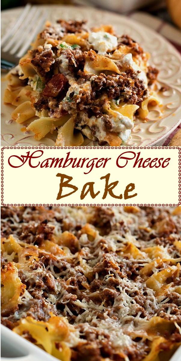 Hamburger Cheese Bake #dinnerrecipes