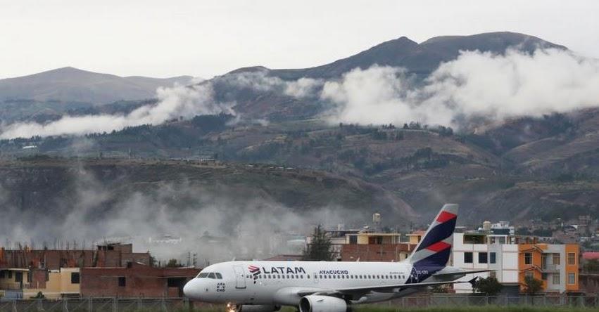 Aeropuertos de Arequipa, Ayacucho y Tacna se mantienen abiertos y ratifican operaciones