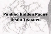 Finding Hidden Faces in the Given Pictures Brain Teasers