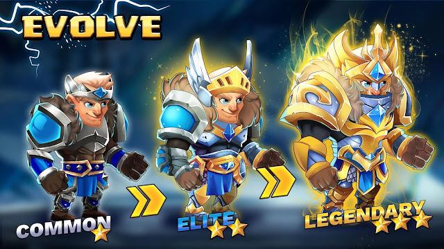 Download Tiny Gladiators 2 Heroes Duels - RPG Battle Arena Mod Apk