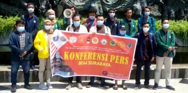 Tegaskan Sikap, Forum BEM Surabaya Bukan Bagian Gerakan Tolak Omnibus Law