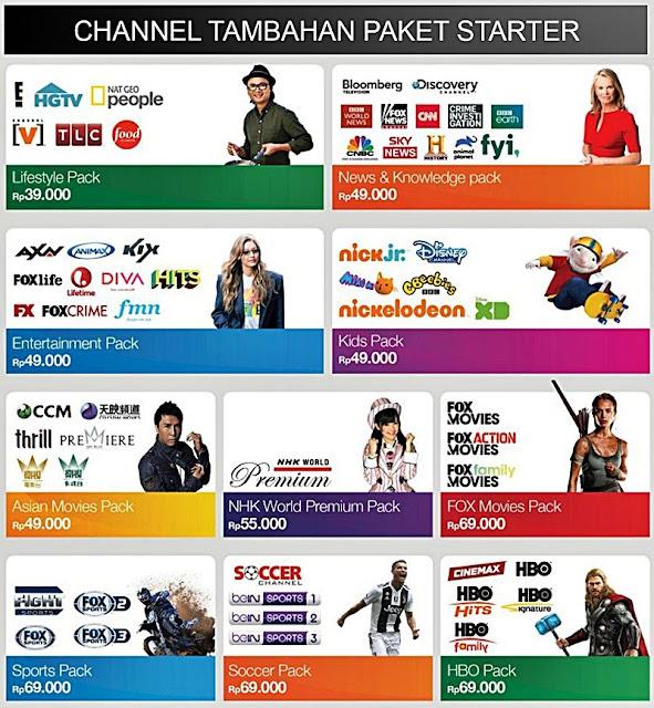 Paket MNC Vision Indovision Terbaru 2020