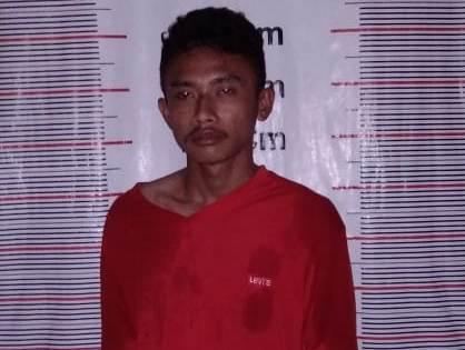 Sembunyikan Sabu Dikotak Rokok, Indra Wijaya Dibekuk Polisi