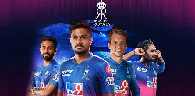 IPL 2021 : Rajasthan Royals Full Players List