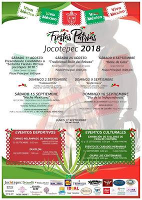 programa fiestas patrias jocotepec 2018