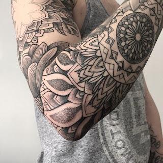tatuaje mandala hombre 1