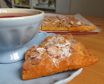 Sugar Crusted Almond Bars
