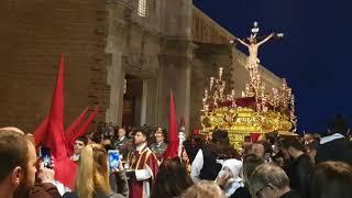 Cristo de la Expiración por Arquitecto Acero en la Semana Santa de Cádiz 2019 en HD