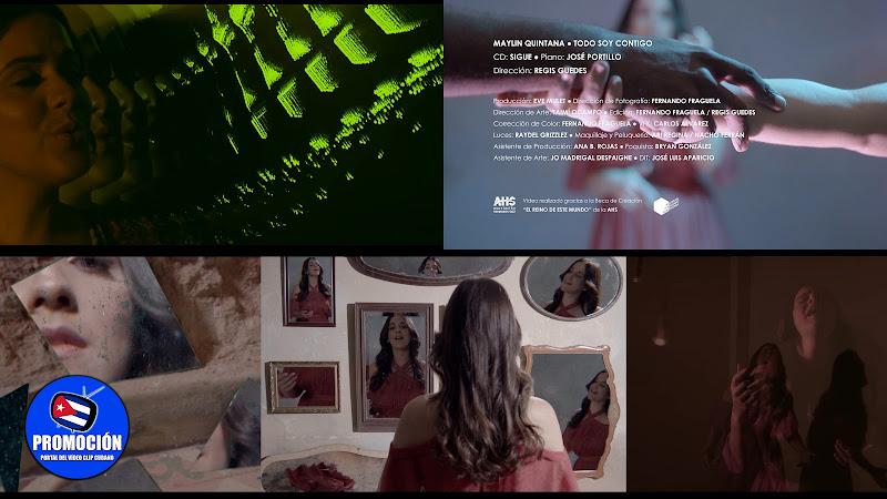 Maylin Quintana - ¨Todo soy contigo¨ - Videoclip - Director: Regis Guedes. Portal Del Vídeo Clip Cubano. Música cubana. Cuba.