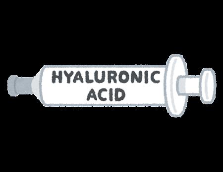 ヒアルロン酸注射のイラスト