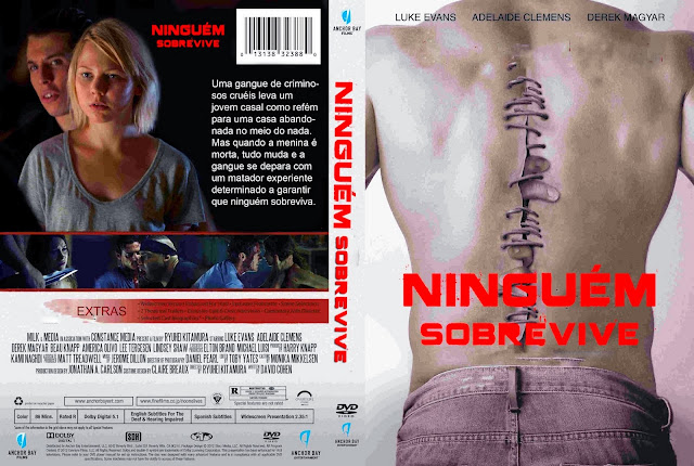 Capa DVD Ninguém Sobrevive