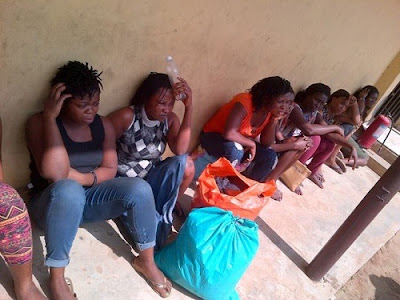 See 8 Prostitutes Arrested in the Ikoyi Residence of Late National Security Adviser (Photo)