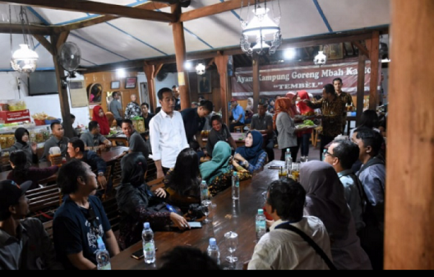 Jokowi: Name of Cabinet Minister 2019-2024 Many Young People