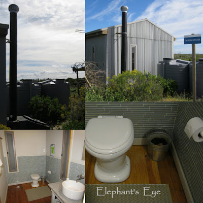 Composting toilet at Rocher Pan Nature Reserve