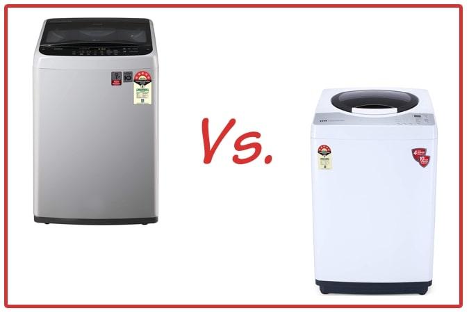 LG T70SPSF2Z and IFB REWH Washing Machine Comparison.